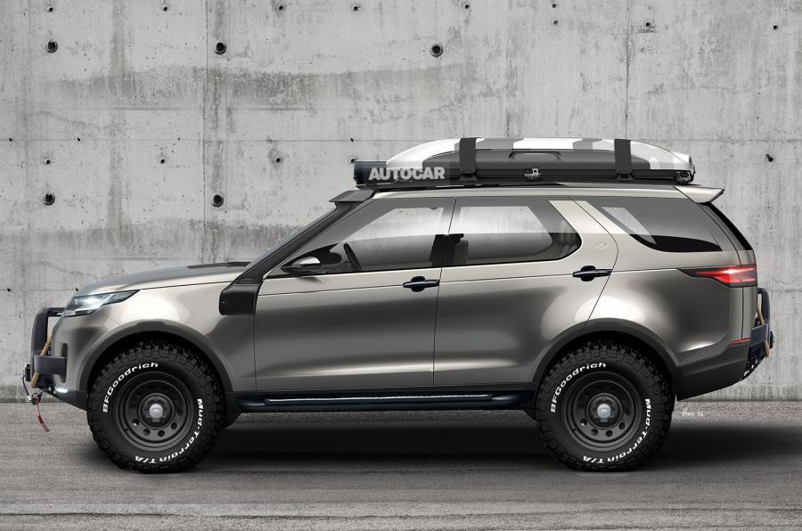 Land Rover SVX Scetch