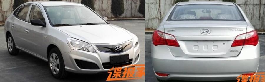 Электромобиль Hyundai Elantra Yue Dong