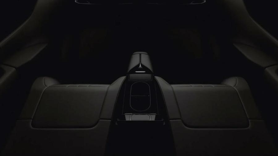 Тизерное изображение интерьера электромобиля Faraday Future