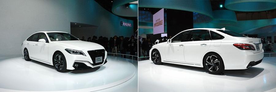 Toyota Crown Concept на Токийском автосалоне.