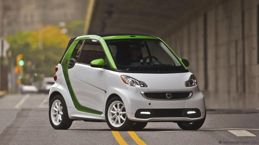 Smart fortwo electric coupe