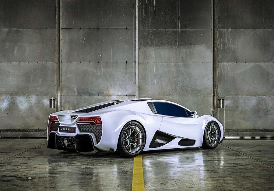 Milan Automotive Red