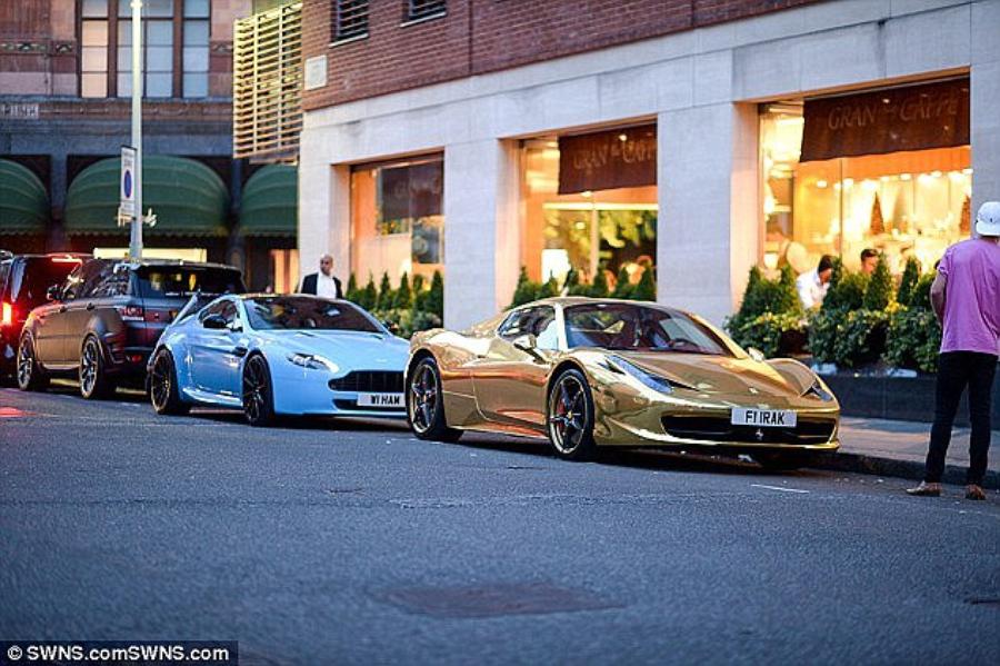 Суперкары в Лондоне