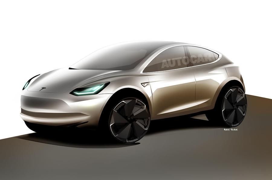 Таким видят будущий Tesla Model Y дизайнеры Autocar