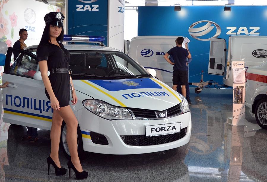 Полицейский ЗАЗ