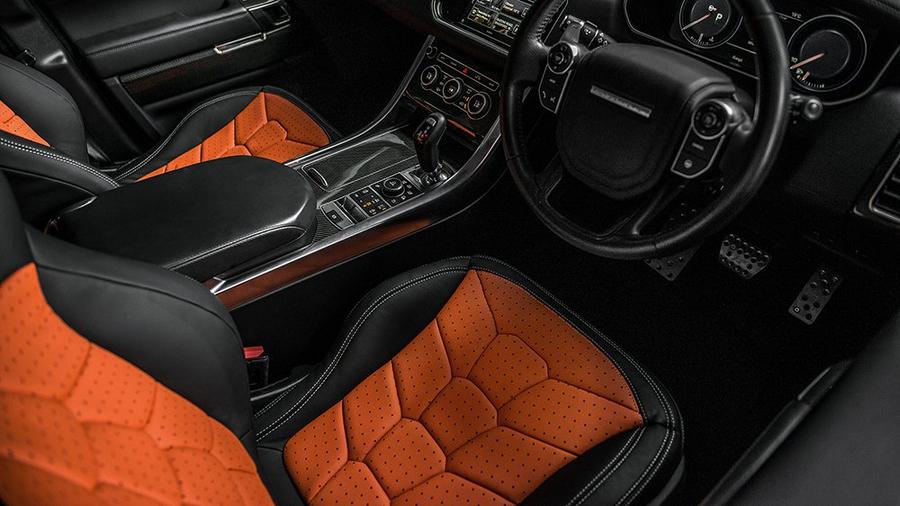 Range Rover Sport SVR Pace Car