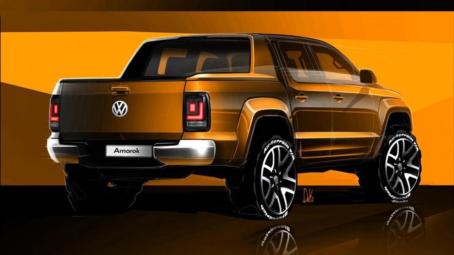 Volkswagen Amarok teaser