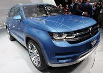 В январе Volkswagen покажет предсерийную версию 5-местного кроссовера
