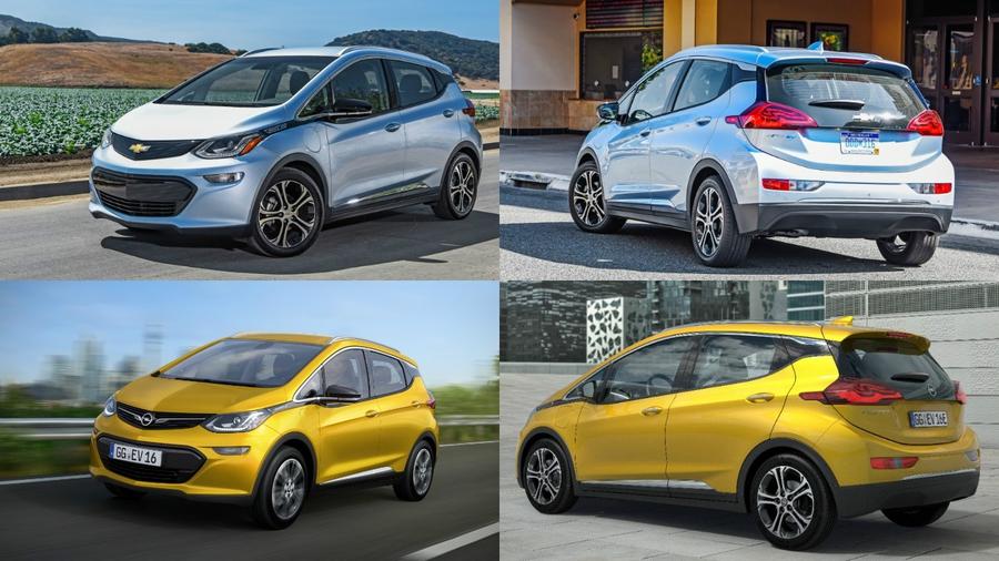 Chevrolet Bolt и Opel Ampera-e