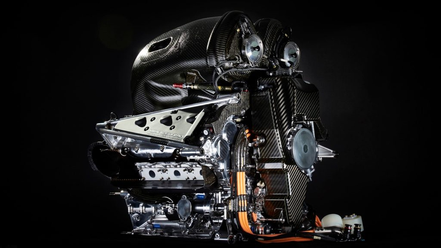 Двигатель Mercedes AMG Petronas W07 Hybrid