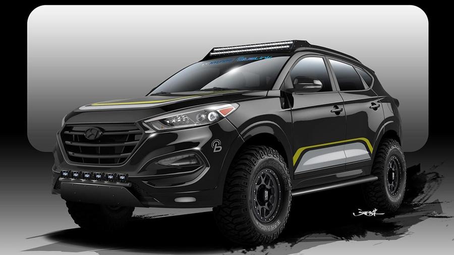 Hyundai Tucson от Rockstar Perfomance Garage