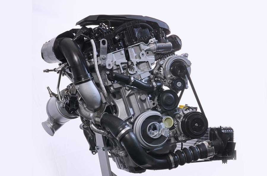 Четырёхцилиндровый бензиновый двигатель BMW TwinPower Turbo