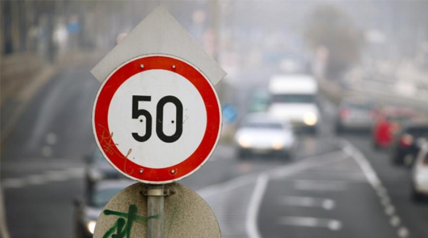 В Украине снизили до 50 км/ч максимально разрешенную скорость в населенных пунктах
