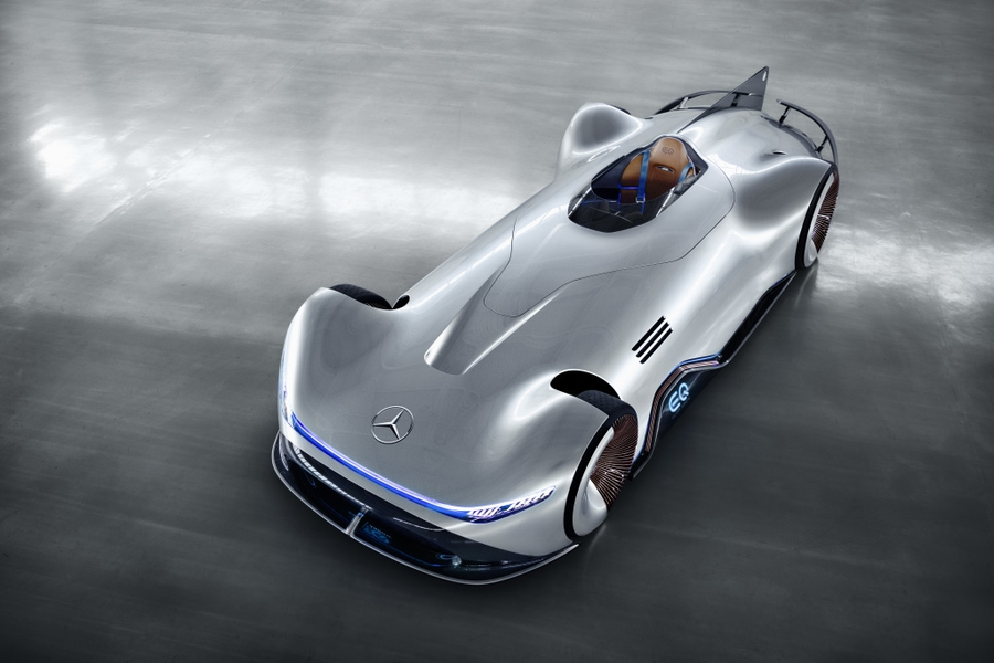 Mercedes-Benz Vision EQ Silver Arrow