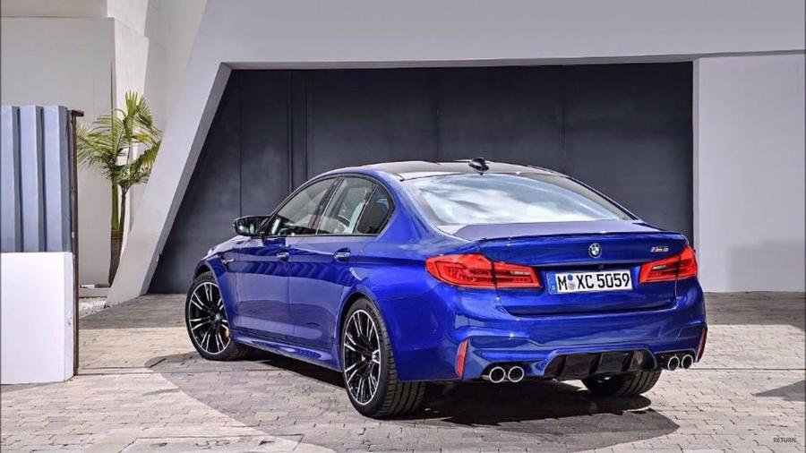 Рассекречен новый седан BMW M5 (ФОТО)