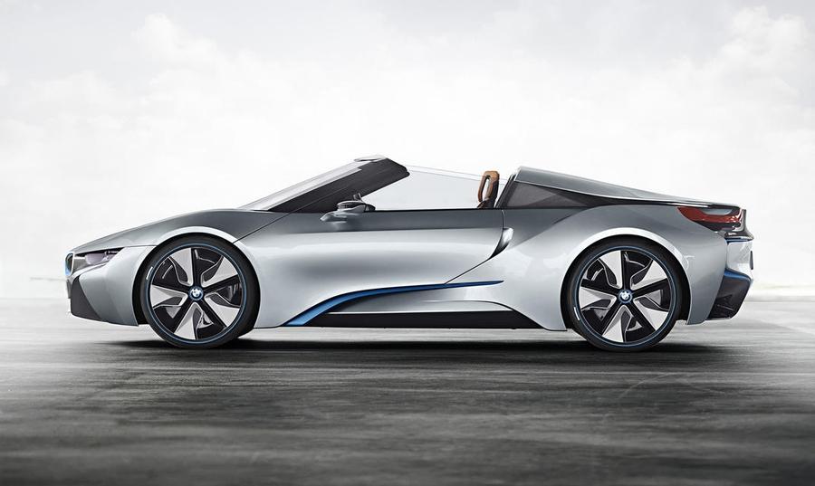 Концептуальный BMW i8 Spider