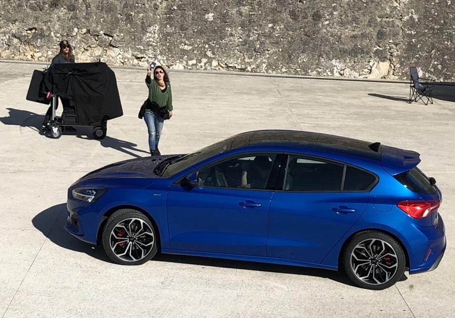 Шпионское фото Ford Focus