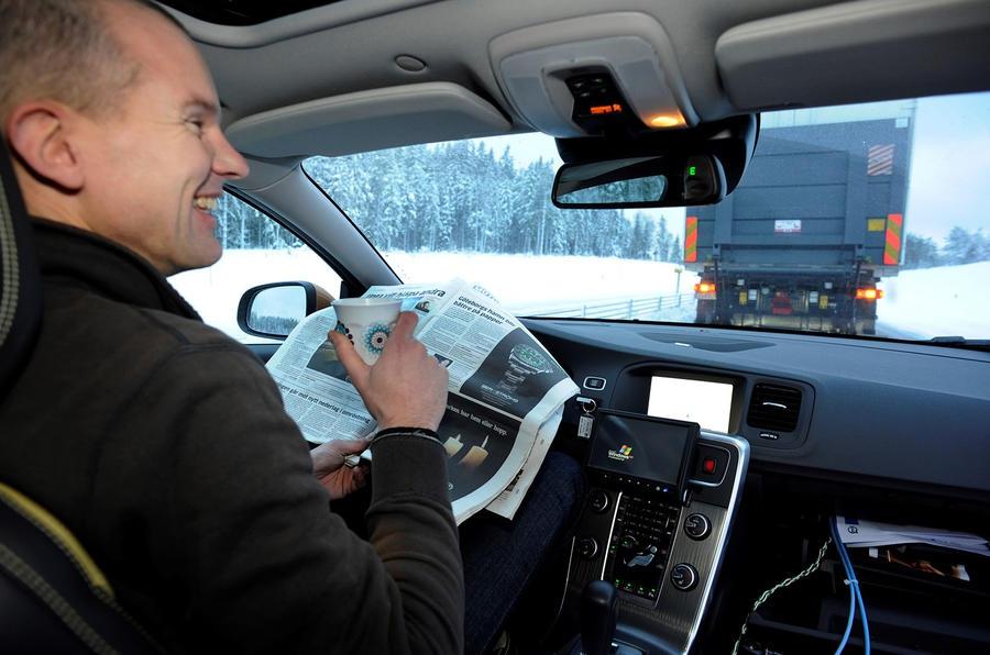 Беспилотник Volvo