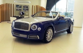 Bentley Grand Convertible: кабриолет за $3.5 миллиона