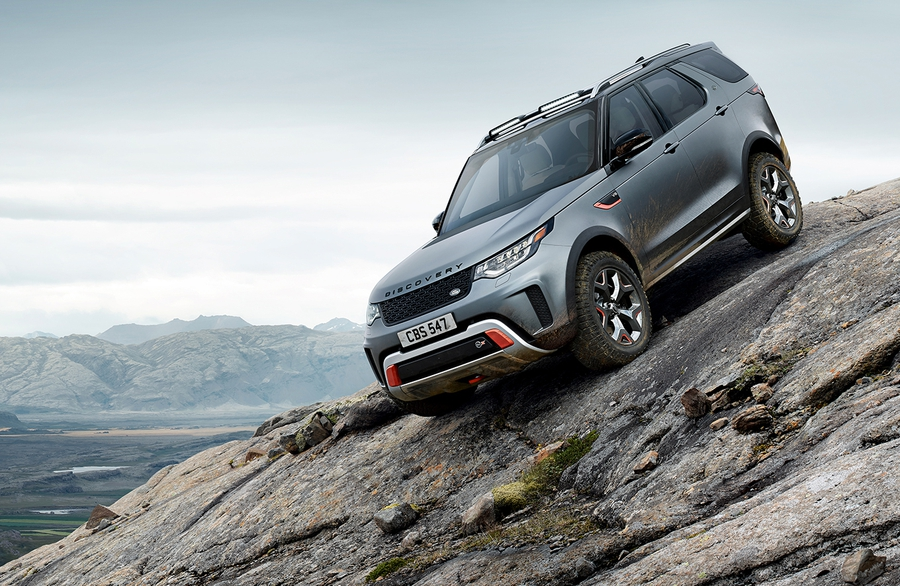 Rover Discovery SVX
