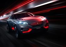 Peugeot показала 499-сильный кроссовер Quartz
