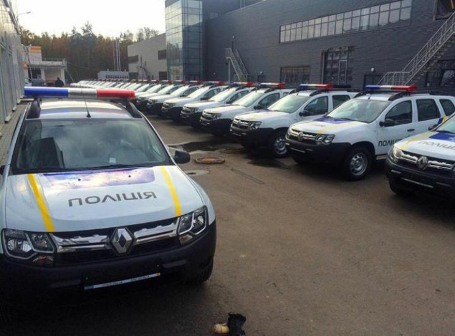 Полицейские Renault Duster