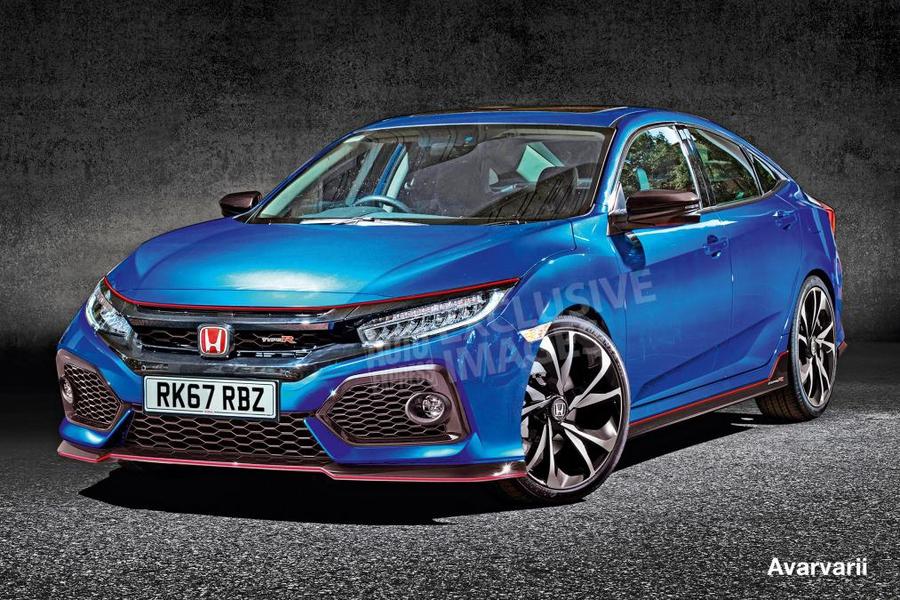 Honda Civic Type R следующего поколения