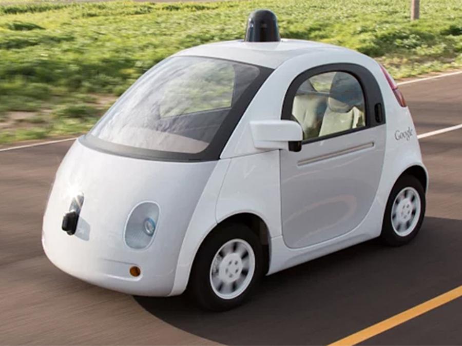 Прототип самоуправляемого электромобиля Google