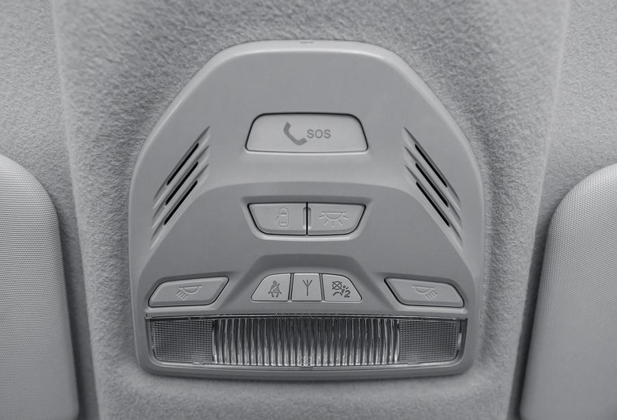 «Тревожная кнопка» ЭРА-ГЛОНАСС в Lada Vesta