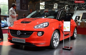 Paris'2012: Opel Adam — в Европе от 11 500 евро