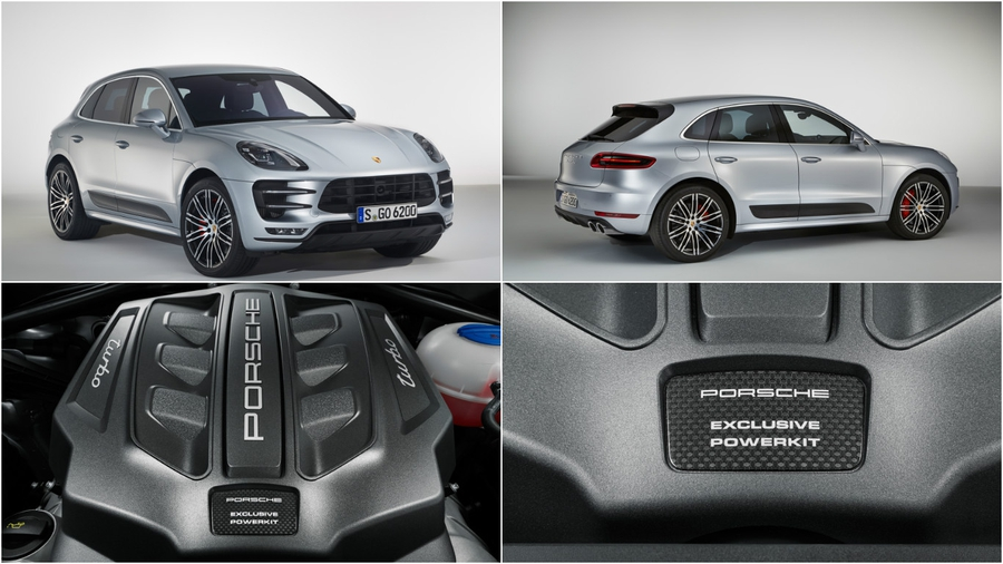 Porsche Macan Turbo Perfomance Package