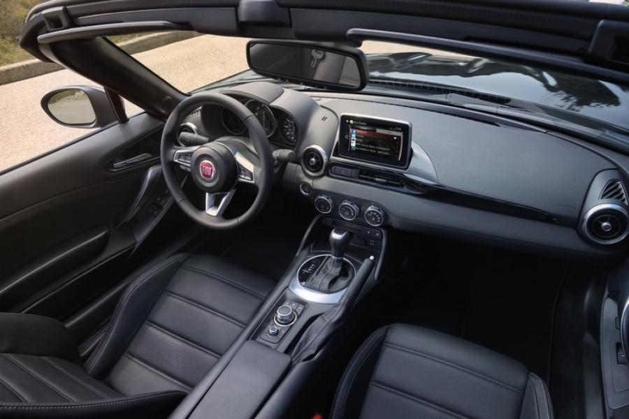 Новый Fiat 124 Spider