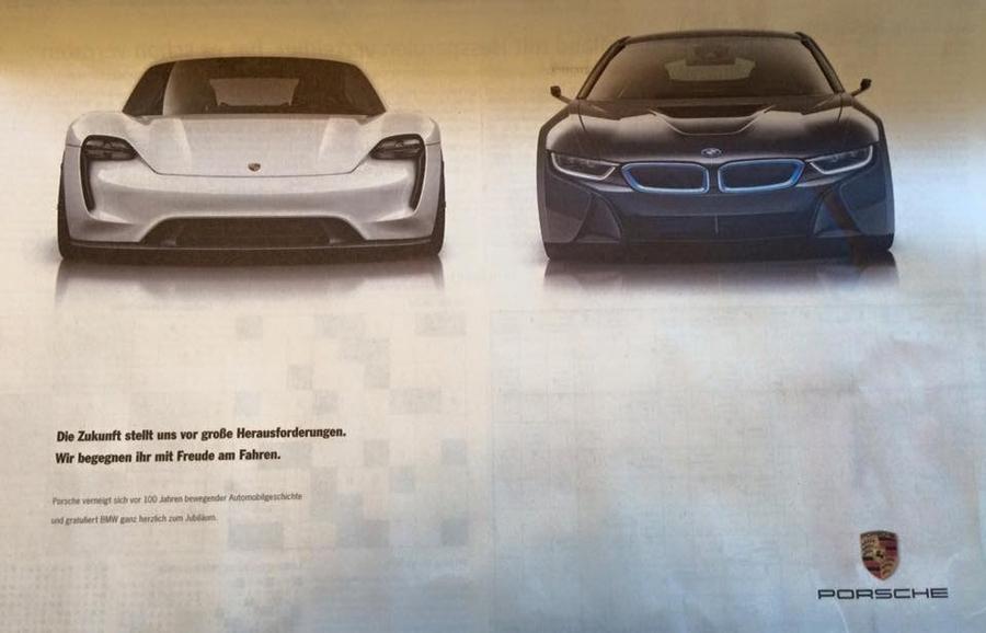 Porsche vs. BMW