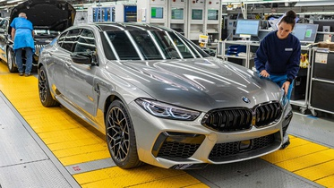 Новый BMW M8 Gran Coupe встал на конвейер