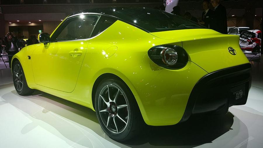 Предсерийный концепт Toyota S-FR в Токио