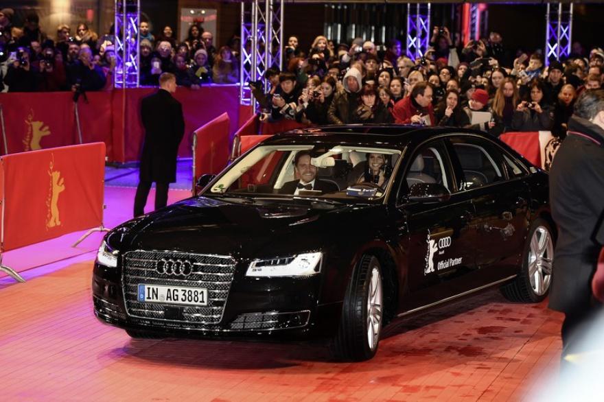 Гостей Берлинале доставлял беспилотный Audi A8
