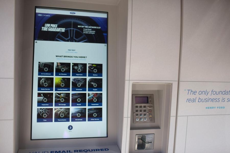 Smart Service Kiosk