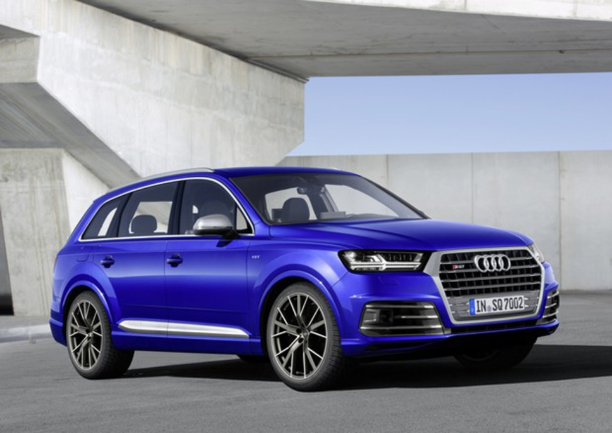 Новый Audi SQ7 TDI стал самым мощным дизельным кроссовером