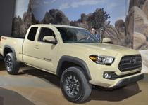 Toyota обновила популярный американский пикап Tacoma