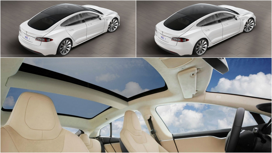 Tesla Sunroof