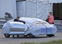 Фотошпионы засняли таинственный концепт-кар Mercedes-Benz
