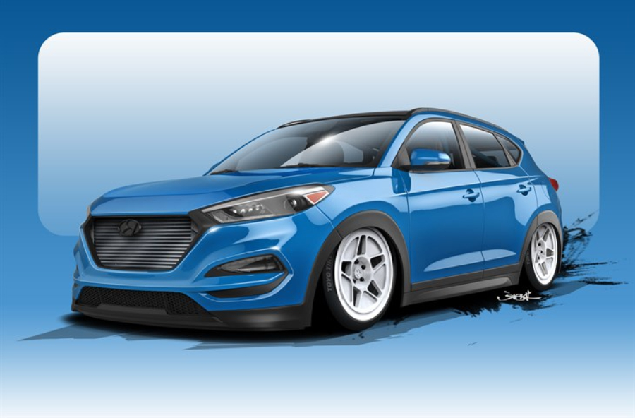 700-сильный Hyundai Tucson