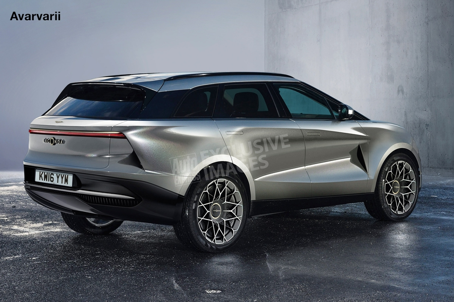 Тут и под заголовком новости — неофициальные скетчи нового кроссовера Lagonda от Auto Express и Avarvarii.