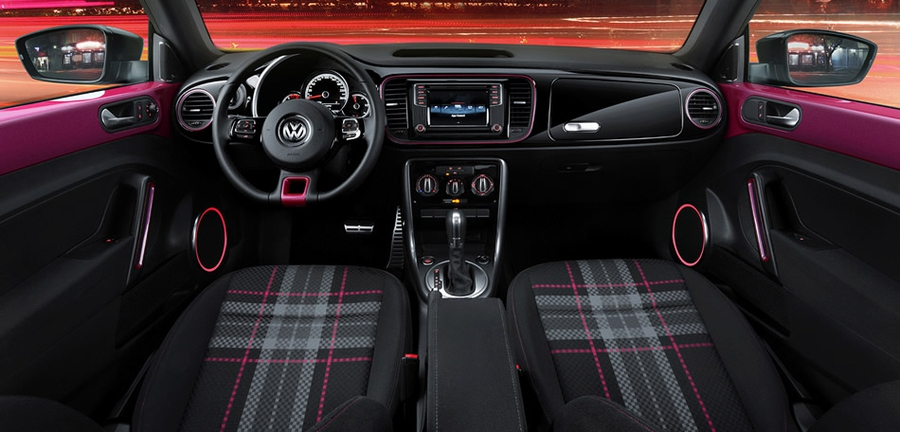 VW Betle Pink