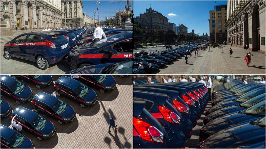 Ford Fiesta для медслужб Киева