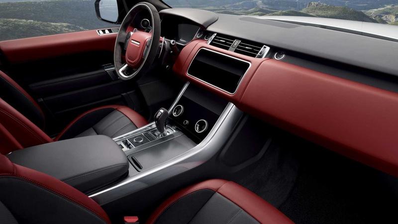 Range Rover перешел нарядные «шестерки» иэлектронаддув