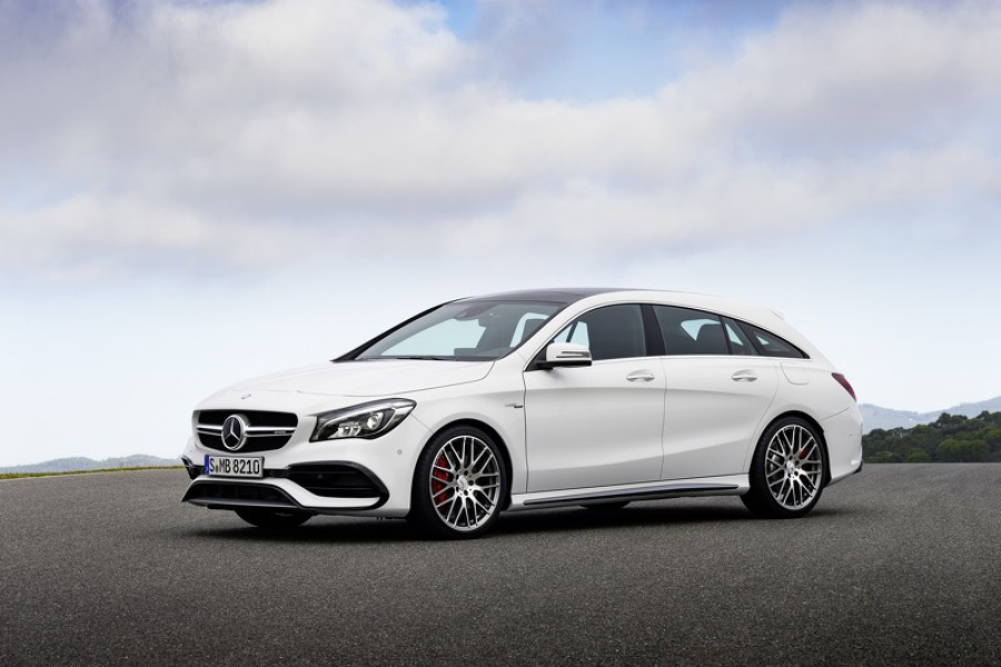 Mercedes-Ben CLA Shooting Brake