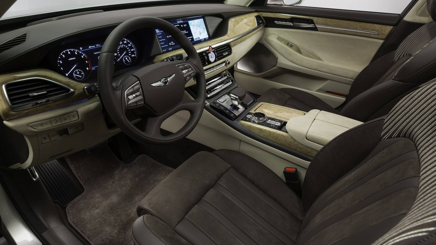 Genesis G90 Touch Of Sensuality