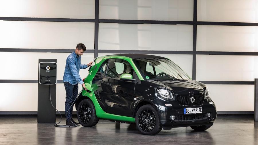 Smart fortwo electric drive нового поколения