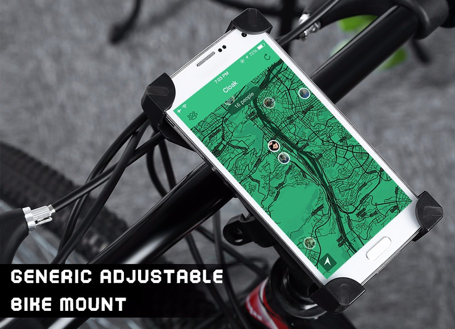 Handlebar Phone Mount Holder for Bicycle Bike